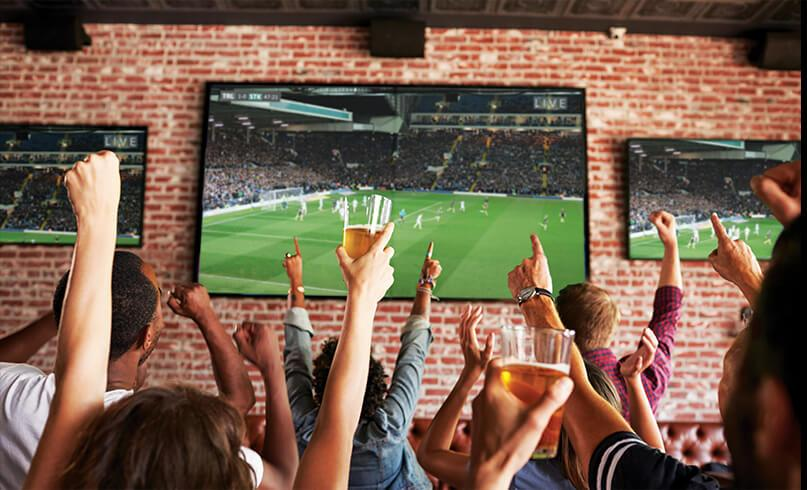 Sports TV for Business from McCoy's Satellite
